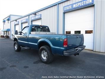 2001 Ford F-250 Super Duty XL 7.3 Diesel Lifted 4X4 Regular Cab LB - Photo 3 - Richmond, VA 23237