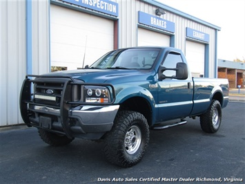 2001 Ford F-250 Super Duty XL 7.3 Diesel Lifted 4X4 Regular Cab LB - Photo 1 - Richmond, VA 23237