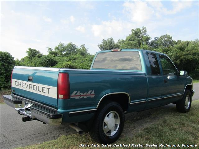 1997 Chevrolet Silverado C/K 10 4X4 Extended Cab Short Bed - Photo 9 - Richmond, VA 23237