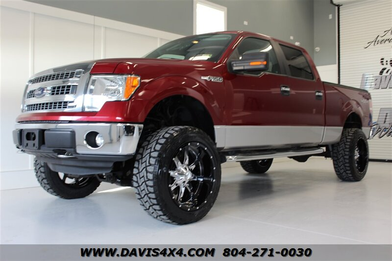 2013 Ford F 150 Xlt Lifted 4x4 Super Crew Cab Short Bed Sold