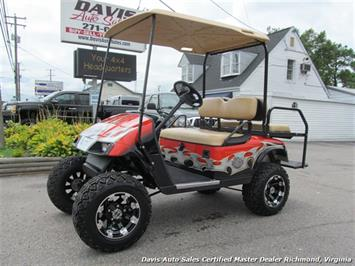 2007 EZ-GO Electric Golf Cart Harley-Davidson Edition