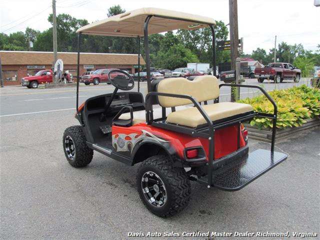 2007 EZ-GO Electric Golf Cart Harley-Davidson Edition on harley davidson dodge charger, harley davidson power wheels charger, harley davidson gas golf carts, harley davidson ground effects lighting, club car golf cart charger,