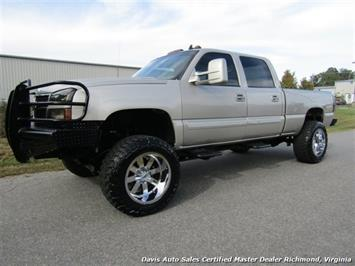 2007 Chevrolet Silverado 2500 HD LT Duramax Lifted LBZ 4X4 Crew Cab Short Bed Truck