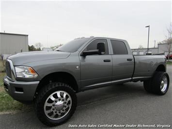 2012 Dodge Ram 3500 SLT Manual Cummins Diesel Lifted 4X4 Dually CC LB Truck