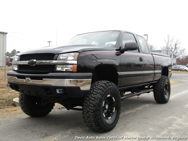 2003 Chevrolet Silverado 1500 Lifted 4x4 Extended Cab Short Bed Low Mileage