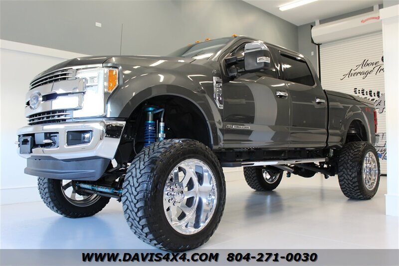 2017 Ford F250 Lifted >> 2017 Ford F 250 Super Duty Fx4 Diesel Lifted Crew Cab Sold