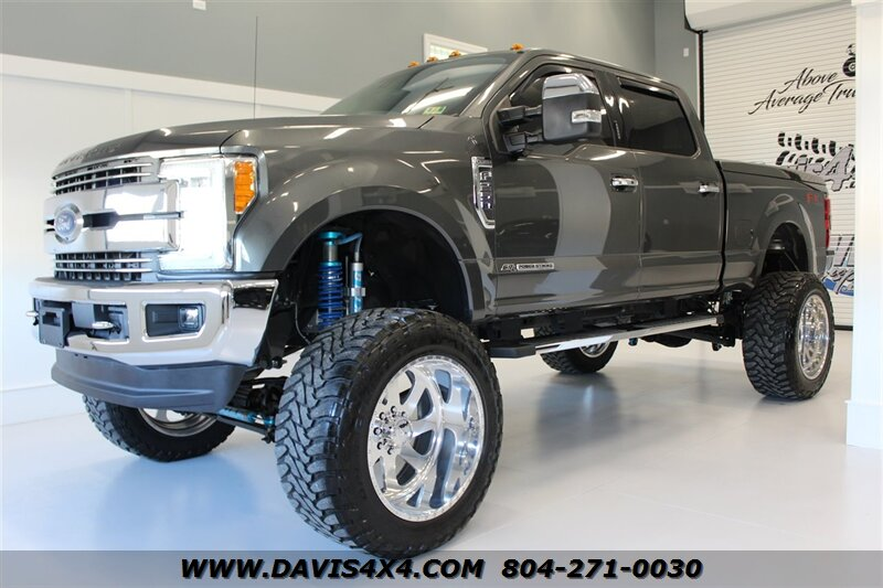 2017 F250 Lifted >> 2017 Ford F 250 Super Duty Fx4 Diesel Lifted Crew Cab Sold