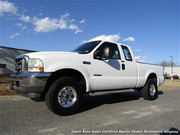 2004 Ford F-250 Super Duty XLT Diesel 4X4 SuperCab Short Bed Truck