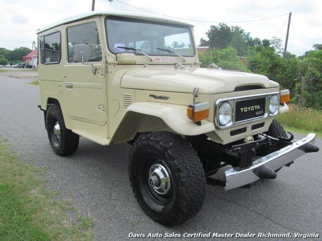1980 Toyota Land Cruiser Bj40 Fj40 4x4 Diesel