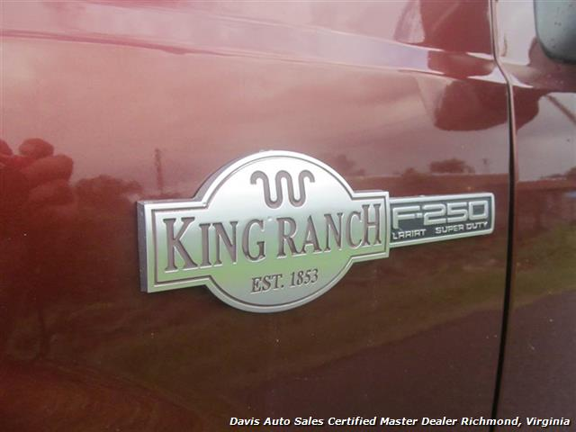 2007 Ford F-250 Diesel Lifted King Ranch 4X4 Super Duty Crew Cab
