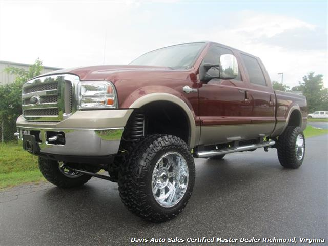 2007 ford f 250 diesel lifted king ranch 4x4 super duty. Black Bedroom Furniture Sets. Home Design Ideas