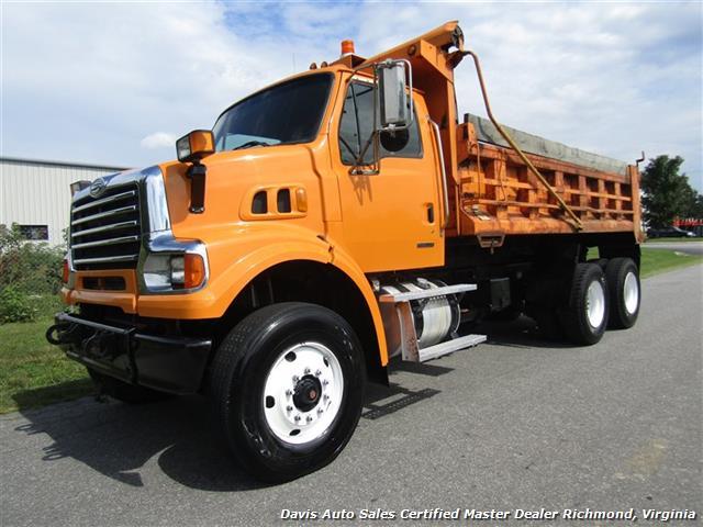 2008 Sterling L7500 LT 75 Cummins Turbo Diesel Tandem Axle Commercial Work Dump Truck - Photo 1 - Richmond, VA 23237