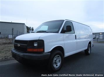 2006 Chevrolet Express 3500 6.6 Duramax Turbo Diesel Commercial Cargo Van
