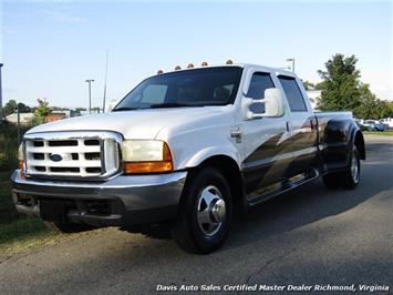 2001 Ford F-350 Super Duty XL 7.3 Diesel Western Hauler Dually Crew Cab Long Bed Truck