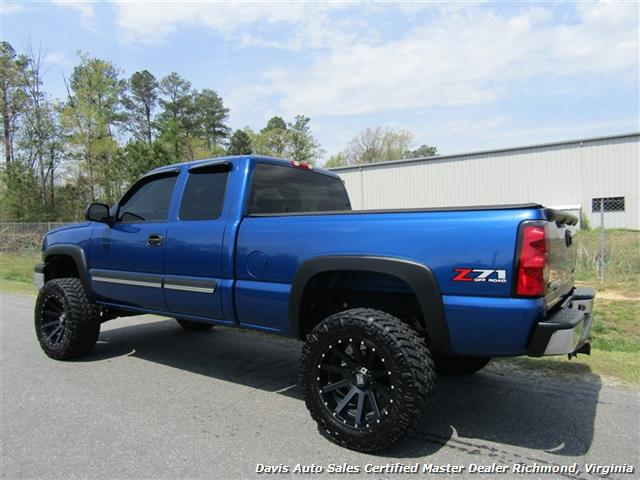 2004 Chevrolet Silverado 1500 Ls Z71 Lifted 4x4 Extended Cab Short Bed Photo 3
