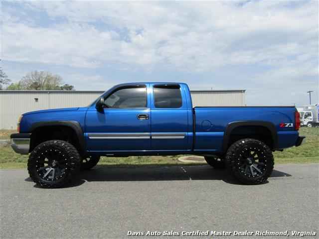2004 Chevrolet Silverado 1500 Ls Z71 Lifted 4x4 Extended Cab Short Bed Photo 2