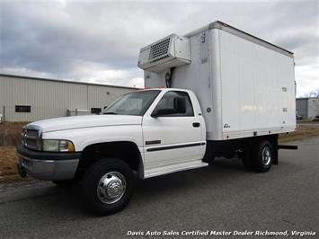 2001 Dodge Ram 3500 SLT 5.9 Cummins Turbo Diesel Refrigerated 12ft Box Truck