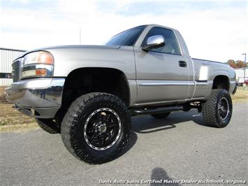 2001 GMC Sierra 1500 SLE Lifted 4X4 Standard Cab Short Bed Chevrolet LS Truck