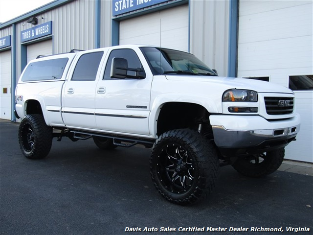 2002 GMC Sierra 2500 HD SLE Lifted 4X4 Loaded Crew Cab Short Bed - Photo 13 - Richmond, VA 23237