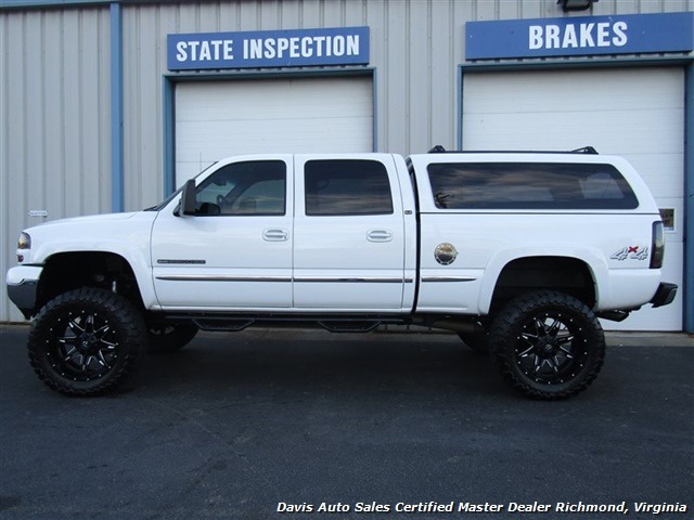 2002 GMC Sierra 2500 HD SLE Lifted 4X4 Loaded Crew Cab Short Bed - Photo 2 - Richmond, VA 23237