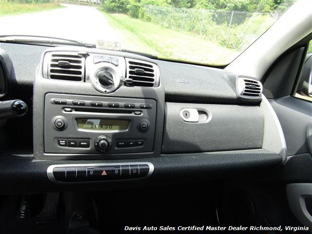 2010 Smart Car fortwo passion 2 Door Hatchback Mercedes - Photo 18 - Richmond, VA 23237