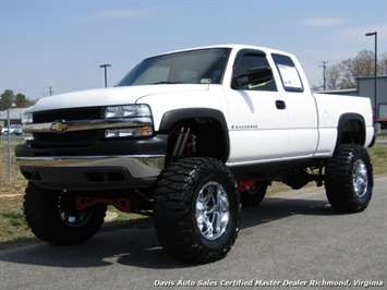 2002 Chevrolet Silverado 2500 HD LS Lifted 4X4 Extended Cab Short Bed Low Miles