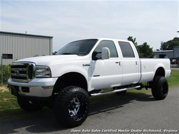 2006 Ford F-350 Super Duty XLT Diesel Lifted 4X4 Crew Cab Long Bed Truck