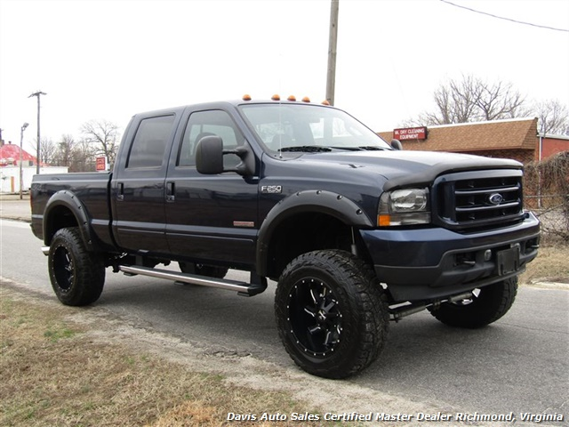 2004 Ford F-250 Super Duty Lariat FX4 Diesel Lifted 4X4 Crew Cab - Photo 14 - Richmond, VA 23237