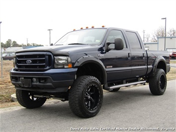 2004 Ford F-250 Super Duty Lariat FX4 Diesel Lifted 4X4 Crew Cab Truck