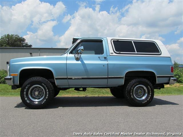 1991 Chevrolet Blazer Silverado K5 Lifted 4x4