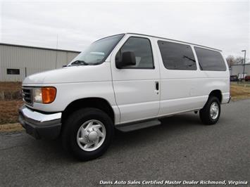 2007 Ford E-350 Super Duty XLT 12 Passenger E-Series Econoline Wagon Van