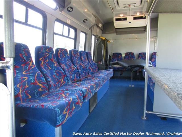 2007 Ford E450 Super Duty Startrans Passenger Shuttle Bus Wheelchair Accessable DRW - Photo 7 - Richmond, VA 23237