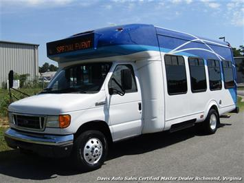 2007 Ford E450 Super Duty Startrans Passenger Shuttle Bus Wheelchair Accessable DRW Van
