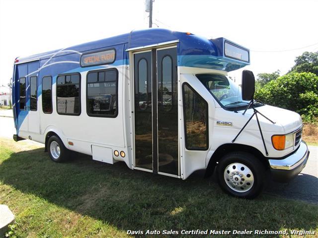 2007 Ford E450 Super Duty Startrans Passenger Shuttle Bus Wheelchair Accessable DRW - Photo 12 - Richmond, VA 23237