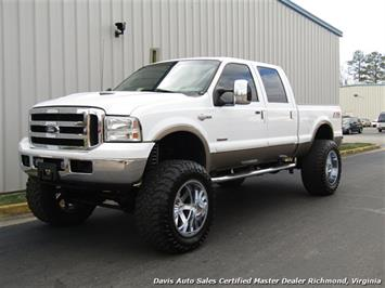 2007 Ford F-250 Super Duty King Ranch Diesel Lifted 4X4 Crew Cab Truck