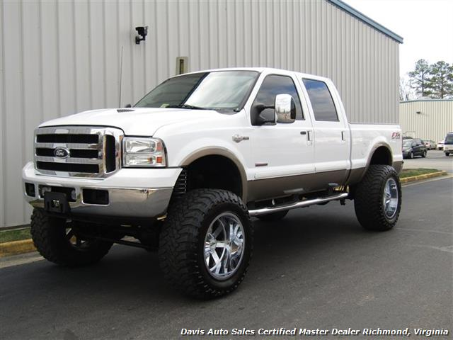 79 Ford Crew Cab For Sale >> 2007 Ford F-250 Super Duty King Ranch Diesel Lifted 4X4 Crew Cab