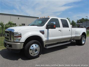 2009 Ford F-450 Super Duty Lariat King Ranch 4X4 DRW Crew Cab Long Bed Truck