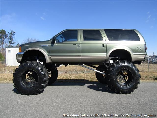 Ford Excursion Limited Lifted X Off Road   Ton Monster Mud Mega Truck Photo