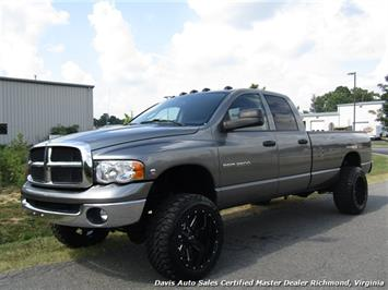 2005 Dodge Ram 2500 HD SLT Lifted 5.9 Cummins Diesel 4X4 Crew Quad Cab Long Bed Truck