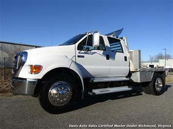 2007 Ford F-650 Super Duty XLT Caterpillar Turbo Diesel Custom Hauler Super Truck