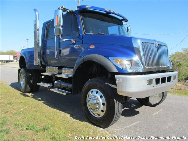 International Cxt 4x4 For Sale >> 2005 International Navistar 7300 CXT 4X4 Crew Cab Dually (SOLD)