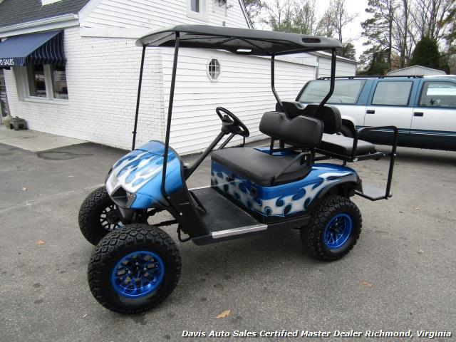 2002 E-Z-GO Golf Cart TXT Standard Electric 36 V Custom Lifted Accessorized - Photo 1 - Richmond, VA 23237