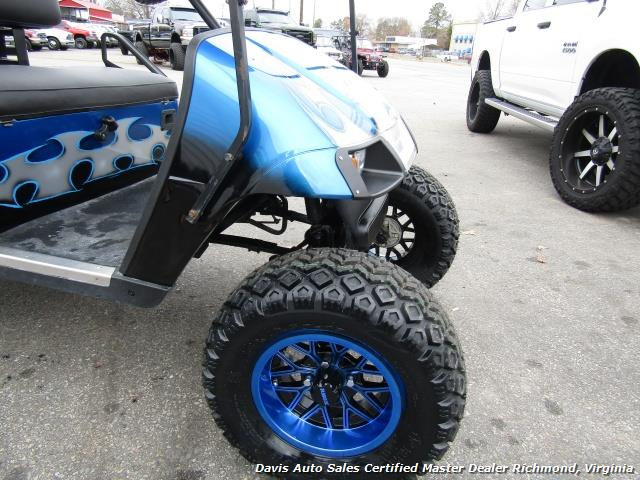2002 E-Z-GO Golf Cart TXT Standard Electric 36 V Custom Lifted Accessorized - Photo 13 - Richmond, VA 23237
