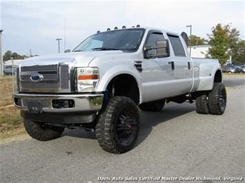 2008 Ford F-350 Super Duty Lariat Turbo Diesel Lifted 4X4 Dually Crew Cab Long Bed Truck