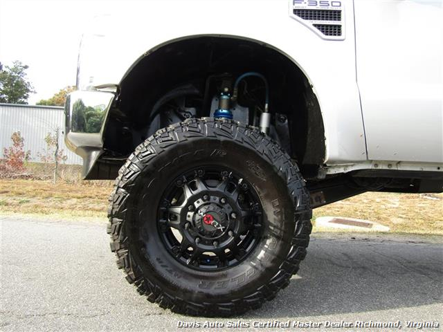 2008 Ford F-350 Super Duty Lariat Turbo Diesel Lifted 4X4 Dually Crew Cab Long Bed - Photo 10 - Richmond, VA 23237