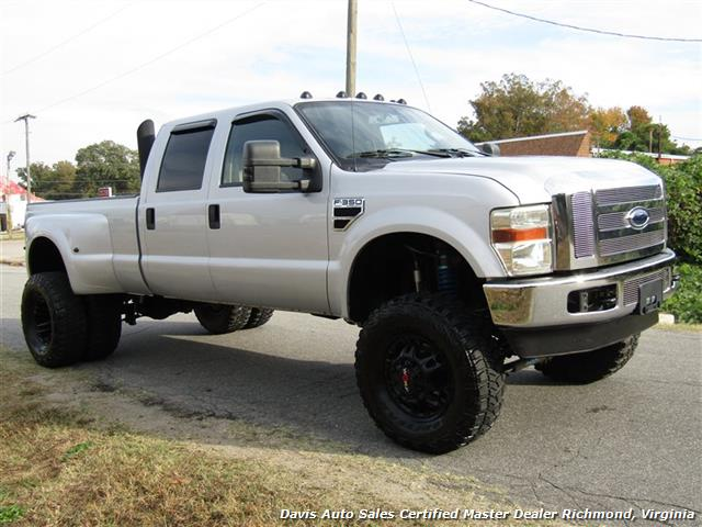 2008 Ford F-350 Super Duty Lariat Turbo Diesel Lifted 4X4 Dually Crew Cab Long Bed - Photo 13 - Richmond, VA 23237