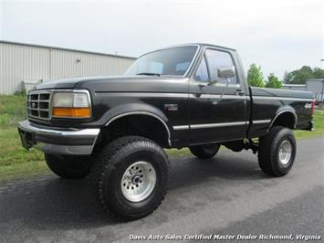 1996 Ford F-150 XLT Manual 4X4 Regular Cab Short Bed Truck