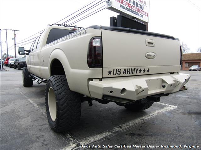 2008 ford f 350 duty lariat 6 4 diesel lifted 4x4 6 door 88903