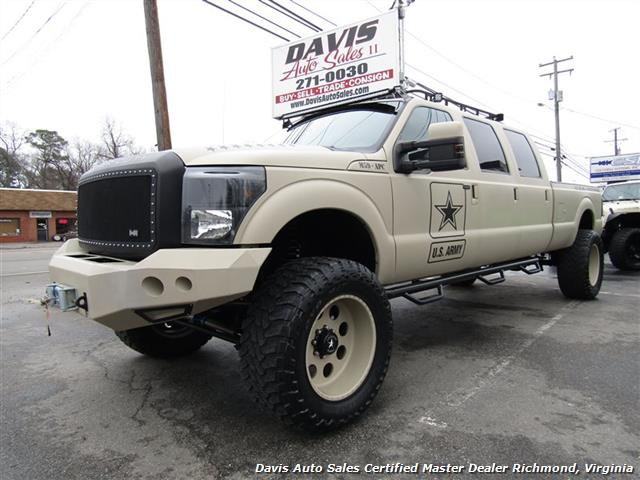 2008 Ford F 350 Super Duty Lariat 6 4sel Lifted 4x4 6 Door P O