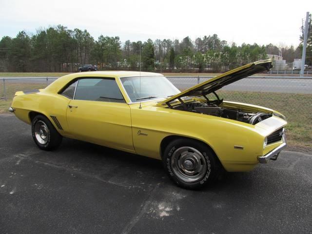 1969 Chevrolet Camaro Sold